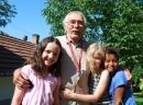 László mit die fröhliche Kinder